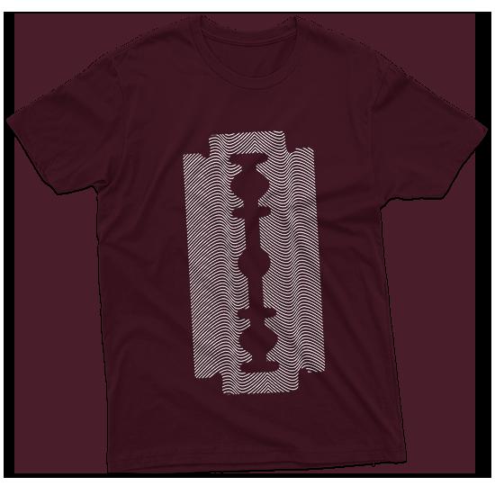 Razor stamp t-shirt